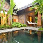 Honeymoon Pool Hut plunge pool Pilgrimage Village