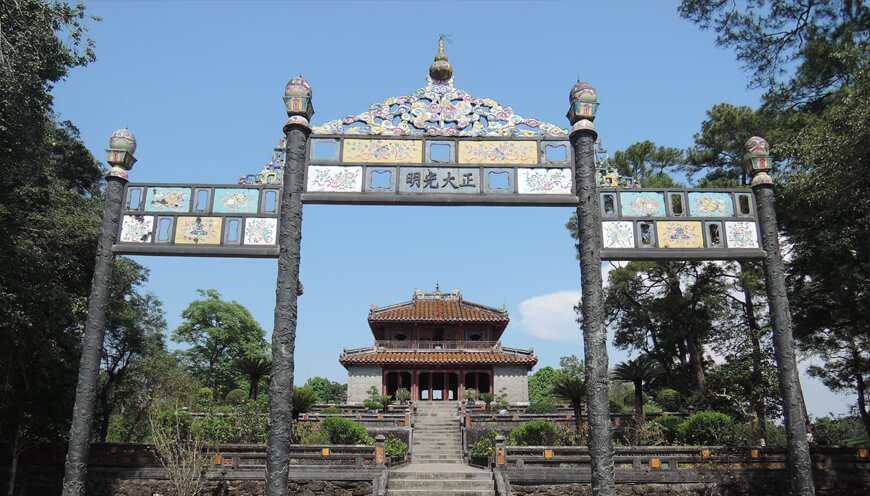 Minh Mang tomb private tours Pilgrimage Village