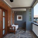 Premium Deluxe room balcony Pilgrimage Village