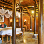 Traditional Vietnamese Pool House bedroom Pilgrimage Village