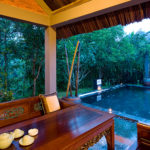 Traditional Vietnamese Pool House dining terrace Pilgrimage Village