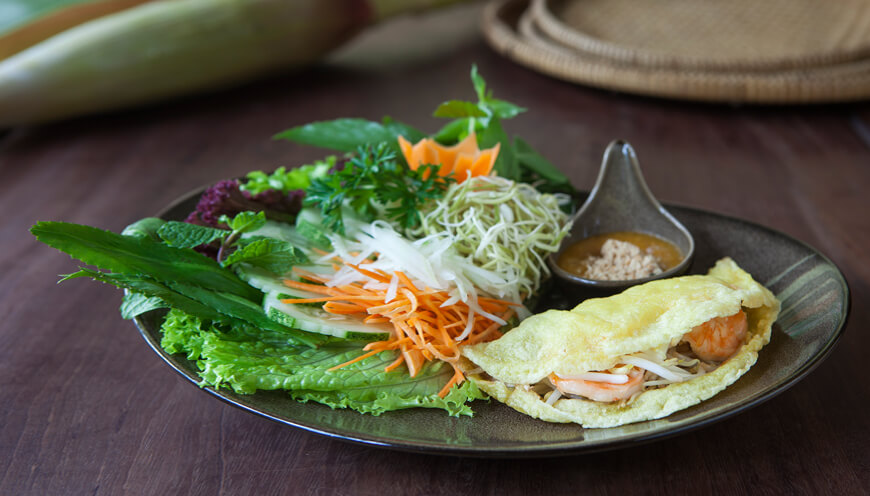 Banh Khoi starter Pilgrimage Village boutique resort & spa